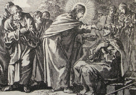 Jesus Healing the Blind Man